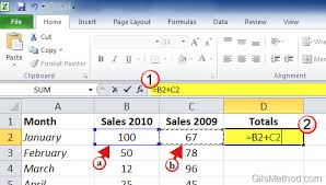 creating formulas in excel 3 ways to enter formulas in excel 2010