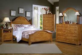 Cottage Panel Bedroom Set (Oak) Vaughan Bassett   Furniture Cart