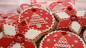 How To Decorate Christmas Cookie Ornaments - Day 3 of the 12 Days of  Christmas - YouTube