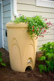 Smart Diy Rain Features With Bucket And Planters