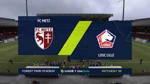 FIFA 21 | FC Metz vs Losc Lille - France Ligue 1 | 09/04/2021