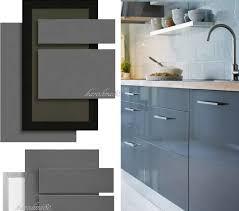 Innovative Gray Kitchen Cabinet Doors Ikea Abstrakt Gray Kitchen ...