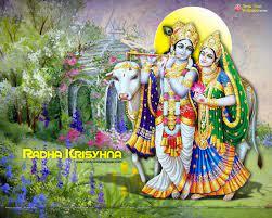 Radha krishna wallpaper, Krishna ...