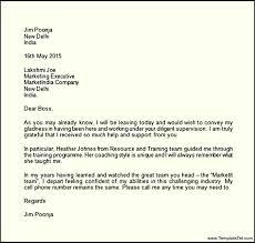 Farewell Letter To Boss Harfiah Jobs