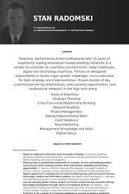 Chief Marketing Officer Resume Samples - Visualcv Resume Samples ...
