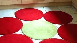 bright red bathroom rugs round rug small circular bath at target white