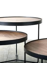 chloe coffee table coffee table round wood coffee table mocha walnut chloe fossilized clam coffee table