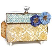 Decorative Recipe Box Recipe Box Decorative Jewelry Storage Box Recipe box Jewelry 51
