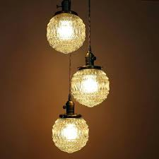 energy saving chandelier light bulbs 3 light chandelier cascading pendant lights with 6 inch textured clear