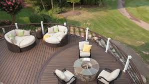 best composite decking material. Unique Best A Composite Deck With Furniture Intended Best Composite Decking Material