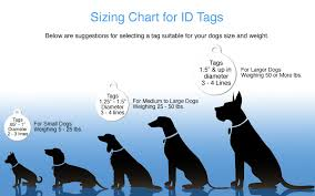 Dog Tag Size Chart White Led Dog Tag