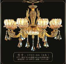 brass crystal chandelier new arrival antique in promotion lamp led ac made spain