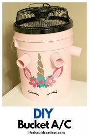 diy bucket air conditioner life