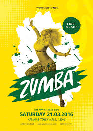 Part Flyer Zumba Party Flyer By Lilynthesweetpea Graphicriver