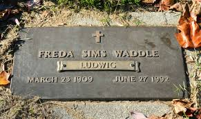 Freda E. Ludwig Sims Waddle (1909-1992) - Find A Grave Memorial