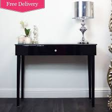 black console table with storage. Beautiful Table Black Console Table With Storage Photo  6 To O