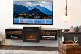 stands inspiring heater stand design fireplace electric espresso floating with drawer modern armchair cube tufted ott