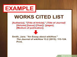 ways to cite an essay   wikihow image titled cite an essay step
