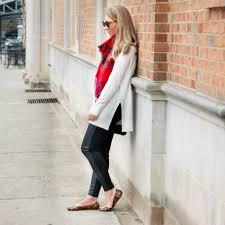 the outfit loft turtleneck tunic loft leather leggings target plaid scarf