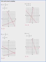 Solving nonlinear systems of equations is not easy. Solving Systems Of Equations By Graphing Algebra 1 Answers Tessshebaylo