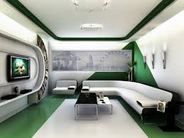 Futuristic Home Interior Design | ... Room Design Ideas Futuristic Living Room  Design for