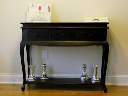 Simple Black Console Table With Storage Image Of 60 Tables To Innovation Design