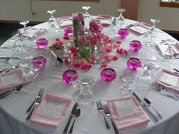 Round Table Settings For Weddings Elements Of The Reception Table Setting Nyc Wedding Blog