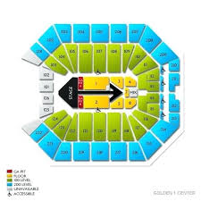 Golden 1 Concert Seating Chart Sleep Train Arena Sacramento Seating Chart Onourway Co