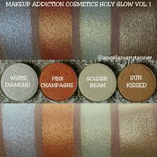 makeup addiction cosmetics holy glow vol 1