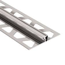 stainless steel movement joint tile edging trim schluter dilex edp