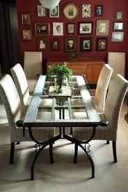 unusual dining furniture. table and repurposed french door add antique wrought iron legs glass top you have a unique dining unusual furniture h