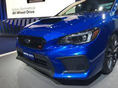 subaru neuheiten 2018. simple subaru the newly redesigned 2018 subaru wrx sti to subaru neuheiten