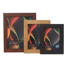 kenro rio 12x10 black photo frame pack 1 rf2530b