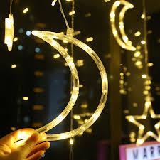 <b>Moon Star</b> Lamp <b>LED</b> Lamp String Ins Christmas Lights Decoration ...
