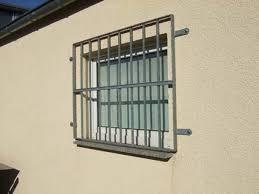Einbruchschutz Fenster Nachrüsten Gitter Haus Ideen