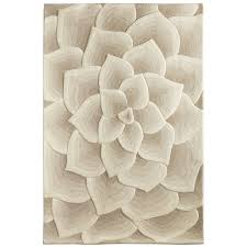 picture 3 of 7 pier 1 area rugs unique rose tufted ivory rug