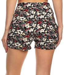 Womens Patterned Shorts Gorgeous Patterned Shorts For Women Men's Shorts Women's Shorts Latest