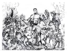 Justice League And The Avengers For