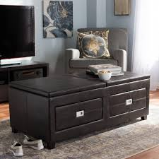 baxton studio indy contemporary dark brown wood coffee table