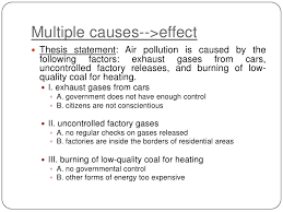 cause and effect essay  7 multiple causes >effect<br