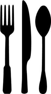 kitchen utensils art. Utensils Silhouette Kitchen Art