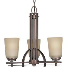 3 light heirloom chandelier
