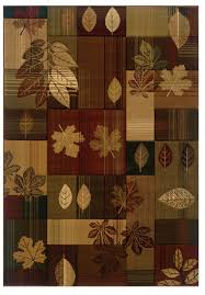 details about united weavers designer contours cem autumn bliss toffee runner rug 2 7 x 7 4
