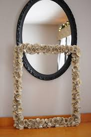 Diy mirror frame ideas Round Flower Frame Living Impressive 10 Creative Mirror Frame Ideas Diy