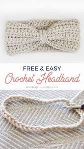 Free Crochet Designs For Beginners Crochet Ear Warmer Pattern Free Ear Warmer Headband Pattern