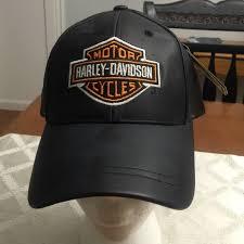 harley davidson accessories harley davidson leather baseball cap new