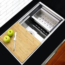 kitchen sink with cutting board kitchen sink cutting board cover42653a