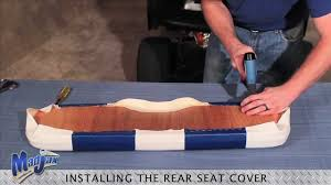 outdated rear seat cover how to install madjax golf cart accessories you