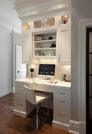 Fabulous Kitchen Best 25 Desk Areas Ideas On Pinterest Office In Built ...