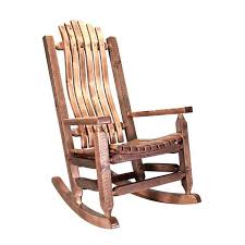 rustic rocking chairs wooden outdoor nutshell s free chair pads rustic rocking chairs